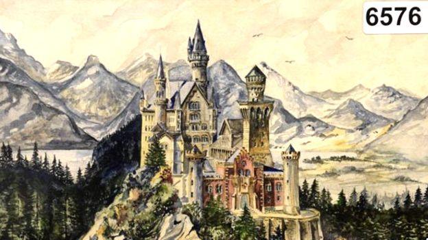 قصر نوشواینشتاین در باواریا اثر آدولف هیتلر