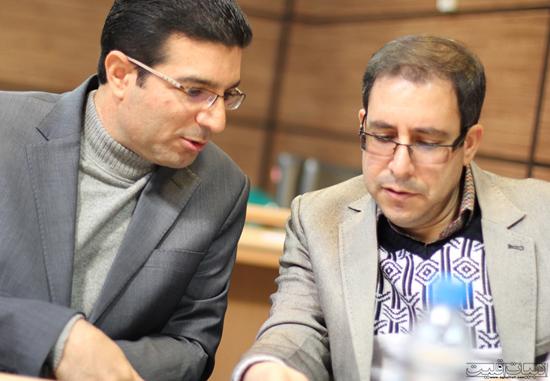 مصطفی حسینی و رضا صادقی شهپر