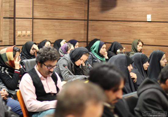 نشست مروری بر کارنامه ادبی دکتر قهرمان شیری