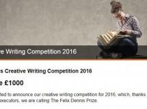 فراخوان مسابقۀ نویسندگی خلاق فیلیکس دنیس