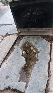 قبر هوشنگ گلشیری